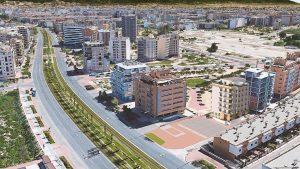 Edificio Sakura en la zona Norte de Murcia