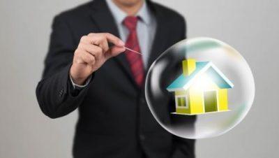 Burbuja inmobiliaria ni de lejos