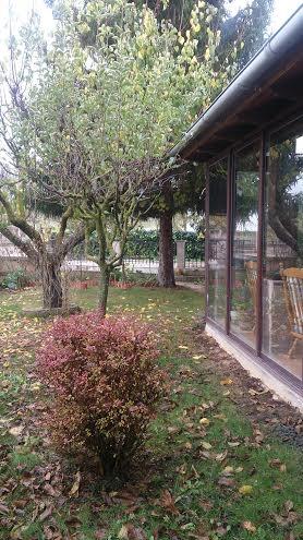 Frontal y jardin