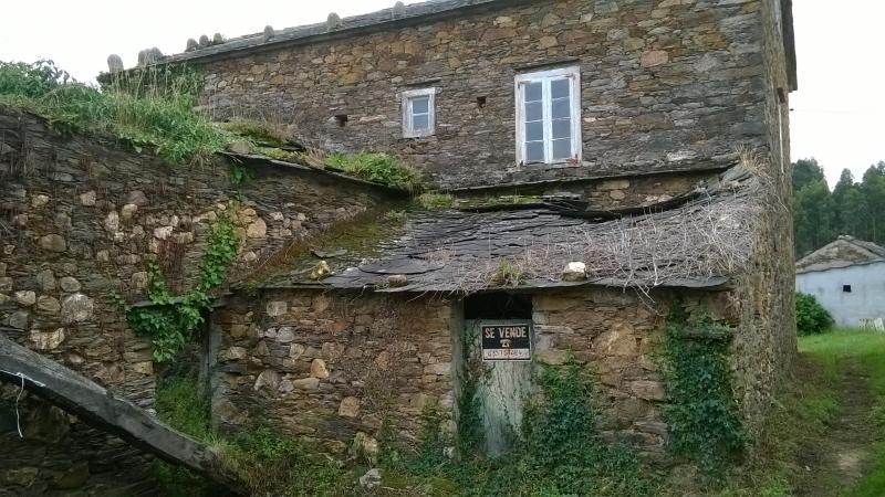 Casas chalets adosados en a coru a casa rural de piedra en galicia - Casas de piedra galicia ...