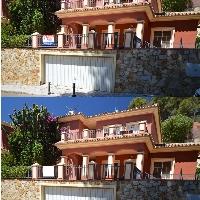 Casa parada en zona residencial Torremolinos