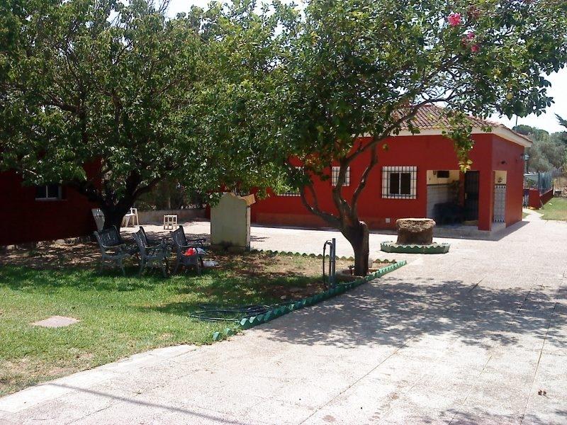 entrada y casa