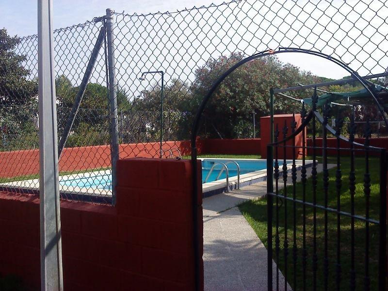 entrada a piscina