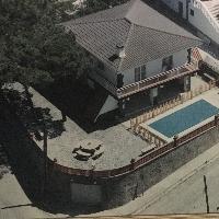 Torre con piscina