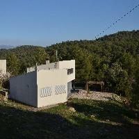 Casa con vistas a Montserrat