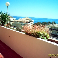 torrequebrada 1 dormitorio a 50m de la playa, 800e al mes.