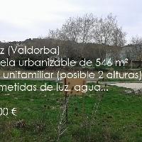 Parcela urbanizable en la Valdorba