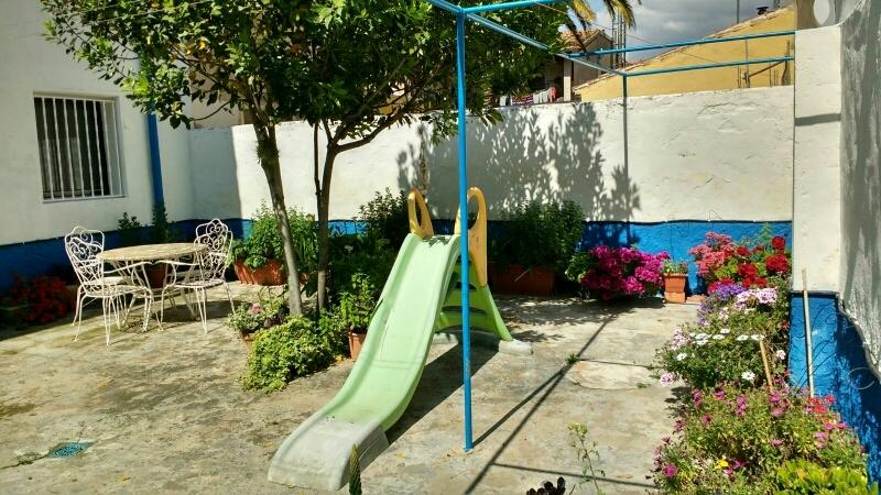 Detalle jardín interior
