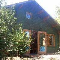 Dos casas de madera en terreno urbanizable