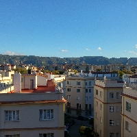 Piso grande y céntrico en Murcia. Grandes vistas.