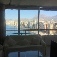 Apartamento en Benidorm con fantásticas vistas al mar
