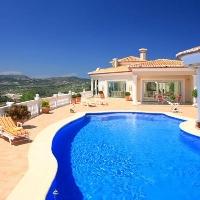 Villa de Lujo estilo Romanico en Moraira zona Arnella