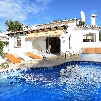Villa en venta cerca de la playa de Moraira