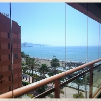 Piso larga temporada en playa Pacífico de Málaga