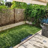 Piso bajo en venta con jardín en Las Rozas