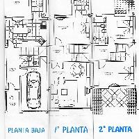 Casa en venta en zona nueva de Peralta