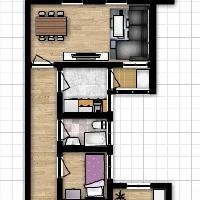 Piso en Venta de 3 Habitaciones para Reformar, Zona Alborxí