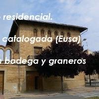 Casa con bodega en venta en Olite