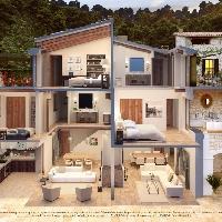 Casa tradicional en plano en venta en Deia