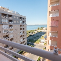 Apartamento en venta con garaje en Veneziola La Manga