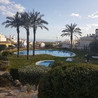 Bungalow of two heights for sale in Finestrat Alicante