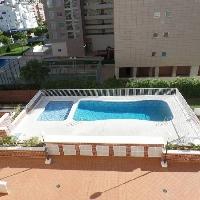 Piso de un dormitorio con piscina en Villajoyosa
