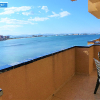 Apartamento en venta rebajado con vistas en La Manga