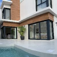 Villa obra nueva con piscina en venta en San Javier