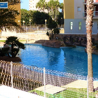 Apartamento rebajado en venta con piscina La  Manga