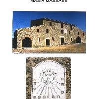 MASIA DEL SIGLO XV EN SILS ( GIRONA )